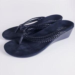Vionic Ramba Thong Arch Support Wedge Sandal